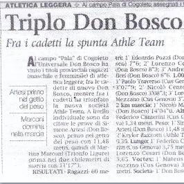 Triplo Don Bosco